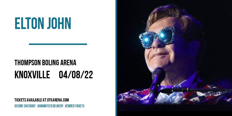 Elton John at Thompson Boling Arena