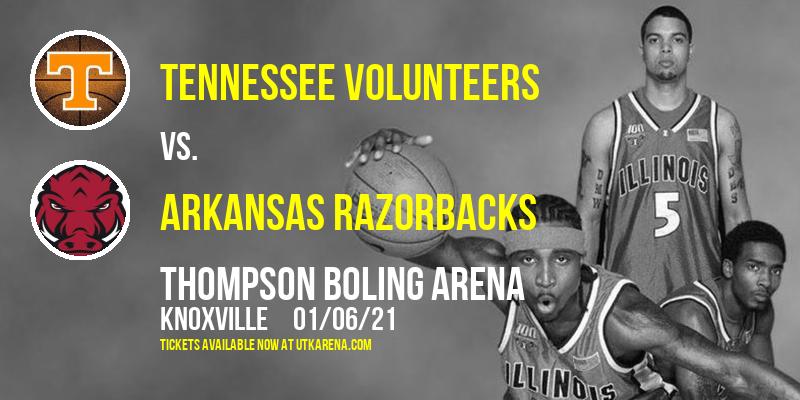 Tennessee Volunteers vs. Arkansas Razorbacks at Thompson Boling Arena