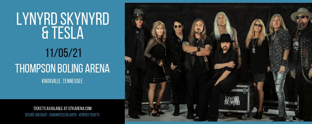 Lynyrd Skynyrd & Tesla at Thompson Boling Arena