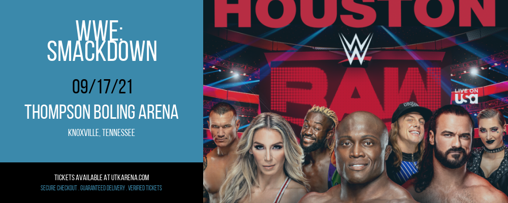 WWE: Smackdown at Thompson Boling Arena