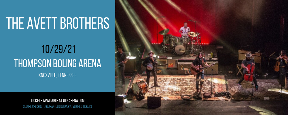The Avett Brothers at Thompson Boling Arena